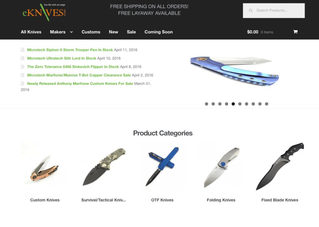 eknives.com