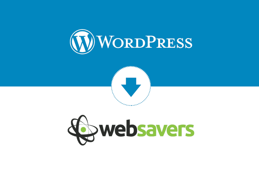 migrate wordpress to websavers