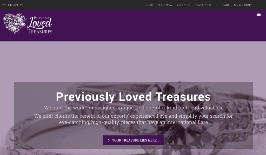 Previously Loved Treasures